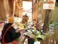 ถาดอาหารเซ่นไหว้ปีใหม่ของชนเผ่า เหมื่องวาง