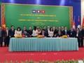 เวียดนามเป็นประธานการจัดทำแผนปฏิบัติการส่งเสริมการค้าเขตสามเหลี่ยมพัฒนา CLV