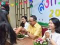 กิจกรรมฉลองวันสงกรานต์ที่ศูนย์ภาษาและวัฒนธรรมไทยสังกัดมหาวิทยาลัยฮานอย