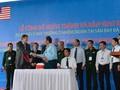 Vietnam und USA: Übergabe von 13,7 Hektar entseuchten Boden im Flughafen Da Nang