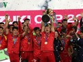 Nation cheers football squad's 2018 AFF Suzuki Cup victory