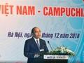 นายกรัฐมนตรีของเวียดนามและกัมพูชาเข้าร่วมฟอรั่มผู้ประกอบการ
