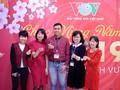ทีมงานภาคภาษาไทยและเจ้าหน้าที่ผู้สื่อข่าวของวีโอวี5พบปะสังสรรค์หลังวันหยุดตรุษเต๊ต
