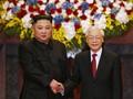 KPV-Generalsekretär, Staatspräsident Nguyen Phu Trong gratuliert Nordkoreas Staatschef