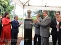 Inauguran un busto del presidente Ho Chi Minh en Guadalajara, México