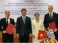 Vietnam y Uruguay firman memorando de cooperación comercial