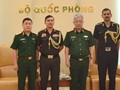 Nguyen Chi Vinh상장, 인도 및 이스라엘 국방 수행관 접견