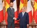 프랑스 공화국 총리, 베트남 정식 방문 마무리