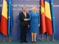 응우옌 쑤언 푹 (Nguyễn Xuân Phúc) 총리, 루마니아 지도자들과 회견