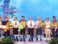 Remise des prix du concours de chanson «Les fleurs immortelles»