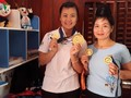 La championne Thai de pencak silat