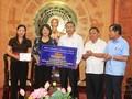 Thanh Hoa: Dang Thi Ngoc Thinh au chevet des sinistrés du typhon Wipha