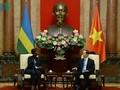 Президент СРВ Чан Дай Куанг принял министров иностранных дел Руанды и Гвинеи