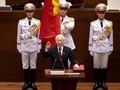 응웬 푸 쫑 서기장, 국가주석 취임