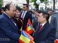 응우옌 쑤언 푹 국무총리의 루마니아 방문의 활동들