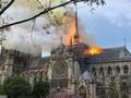 프랑스: 파리 노트르담 대성당 화재