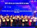 TPHCM: Tôn vinh 100 thương hiệu ngành du lịch hàng đầu