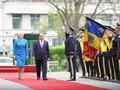 Премьер Румынии провела церемонию встречи вьетнамского коллеги