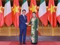 Спикер парламента Вьетнама Нгуен Тхи Ким Нган приняла премьер-министра Италии