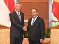 WEF ASEAN 2018: le PM Nguyên Xuân Phuc reçoit son homologue singapourien