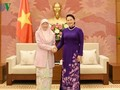 La vice-Première ministre malaisienne reçue par Nguyên Thi Kim Ngân