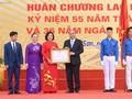 Nguyên Xuân Phuc visite le lycée Da Phuc