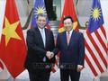 Vietnam-Malaisie : Entretien entre les chefs de la diplomatie