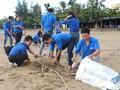 Thanh niên ra quân hưởng ứng Chiến dịch làm cho thế giới sạch hơn năm 2018