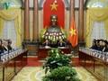 Chủ tịch nước Trần Đại Quang tiếp các trưởng đoàn tham dự hội nghị kiểm toán châu Á