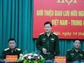 Giao lưu hữu nghị quốc phòng biên giới Việt Nam-Trung Quốc