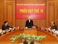Phiên họp thứ 15 Ban Chỉ đạo Trung ương về phòng, chống tham nhũng