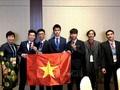เวียดนามสามารถคว้าเหรียญทองในการแข่งขันโอลิมปิกดาราศาสตร์และฟิสิกส์ดาราศาสตร์ระหว่างประเทศ