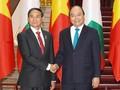 ผู้นำเวียดนามพบปะกับประธานาธิบดีเมียนมาร์