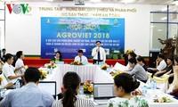 180 ວິສາຫະກິດເຂົ້າຮ່ວມງານຕະຫຼາດນັດກະສິກຳສາກົນ - AgroViet 2018