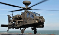 US military helicopters deployed in counter-IS campaign