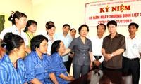 """Aktivitas-aktivitas """"balas budi""""  untuk menyambut peringatan ultah ke-65 Hari prajurit penyandang cacad dan pahlawan yang gugur 27 Juli"""