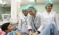 Aktivitas memperingati ultah ke-58 Hari Dokter Vietnam (27 Februari).