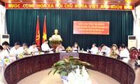 Wakil Ketua MN Vietnam Tong Thi Phong melakukan temu kerja di provinsi Gia Lai