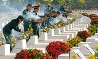 Banyak daerah di Vietnam memperingati hari Prajurit Penyandang Cacad dan Pahlawan yang gugur