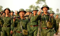Mengembangkan tradisi  70 tahun  berdirinya Tentara Rakyat Vietnam