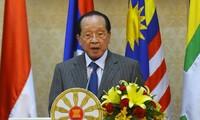 Komunitas ASEAN  akan memperkuat posisi dan peranannya di gelanggang internasional