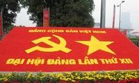 Pers Vietnam dan Internasional  memberitakan Kongres Nasional ke-12 PKV.