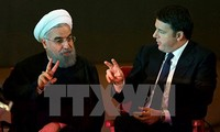 Iran dan Italia menandatangani kesepakatan-kesepakatan senilai  puluhan miliar dolar Amerika Serikat
