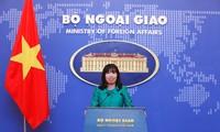 Vietnam memecahkan masalah sengketa di Laut Timur dengan langkah damai  di atas dasar menghormati hukum internasional