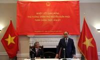 PM Vietnam, Nguyen Xuan Phuc mengakhiri dengan baik kunjungan resmi di AS