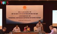 Kerjasama internasional untuk  membantu para korban bom dan ranjau di Vietnam
