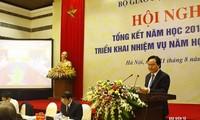 Kementerian Pendidikan dan Pelatihan Vietnam menggelarkan tugas  tahun ajar 2017-2018