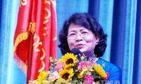 Wapres Vietnam, Dang Thi Ngoc Thinh menghadiri acara dies natalis ke-20 Universitas Ton Duc Thang