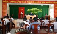 Ketua MN Vietnam, Nguyen Thi Kim Ngan melakukan kontak dengan para pemilih kota Can Tho