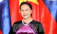 Ketua MN Vietnam, Nguyen Thi Kim Ngan melakukan kunjungan resmi di Republik Kazakhstan
